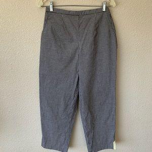 koret pants size 10 womens Capri Pockets Checkered